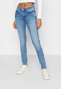 Pepe Jeans - PIXIE STITCH - Jeans Skinny Fit - light blue denim - 0