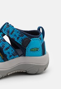 Keen - NEWPORT H2 UNISEX - Chodecké sandály - vivid blue/katydid - 5