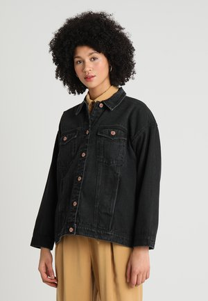 CATHY JACKET - Jeansjacke - black