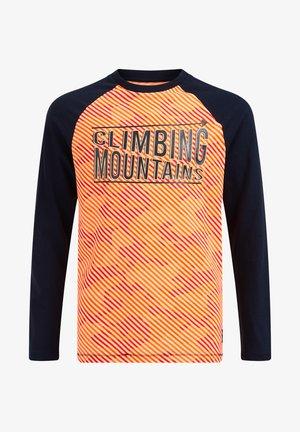 Maglietta a manica lunga - bright orange