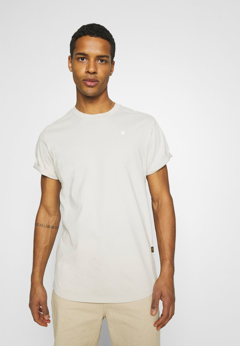 G-Star - LASH - Basic T-shirt - cool grey