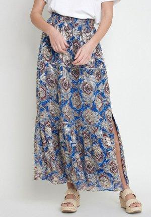 Pleated skirt - bleu