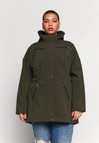 Lauren Ralph Lauren Woman - SYNTHETIC COAT - Parkatakki - light olive - 0
