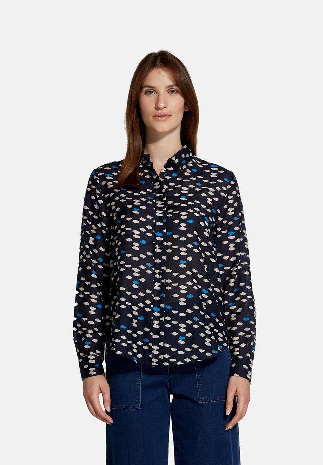 GEOMETRICA - Camicia - blu