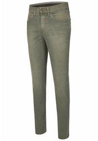 Club of Comfort - Slim fit jeans - grün - 2