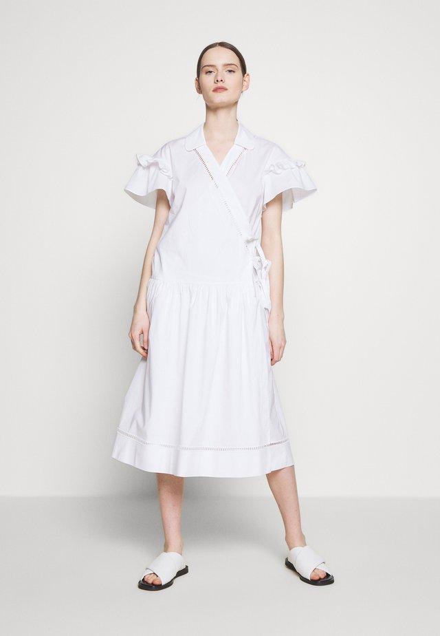 DRESSES - Korte jurk - white