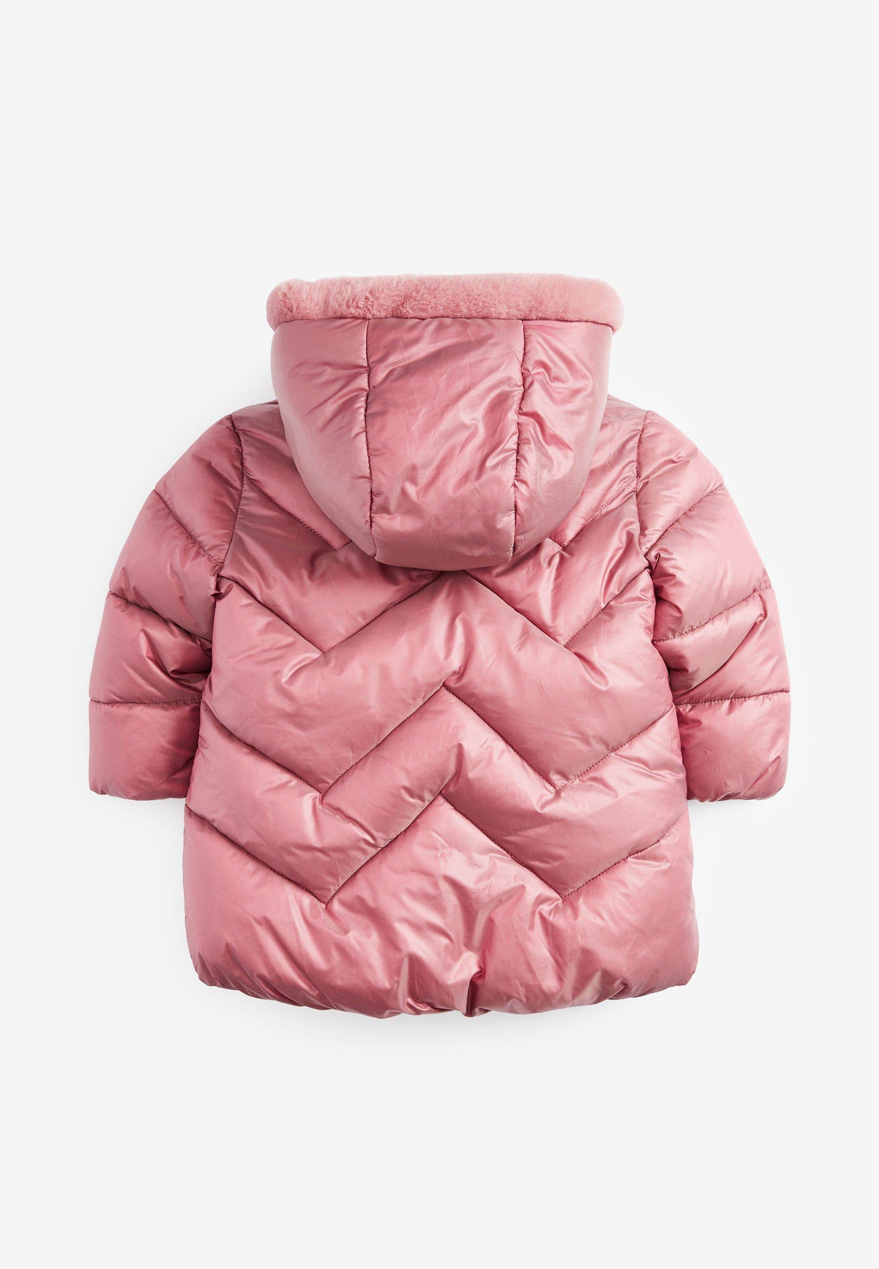 Winterjas pink