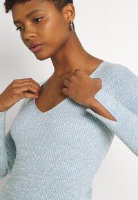 Forever New - KOURTNEY V NECK - Jumper dress - turquoise/blue - 5