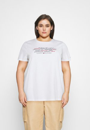 TEE REGULAR WOMEN UNITE - Print T-shirt - optic white