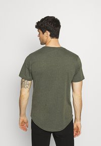 Only & Sons - MATT 7 PACK - Basic T-shirt - light red melange/light grey melange/green melan/anthracite melange/white - 2