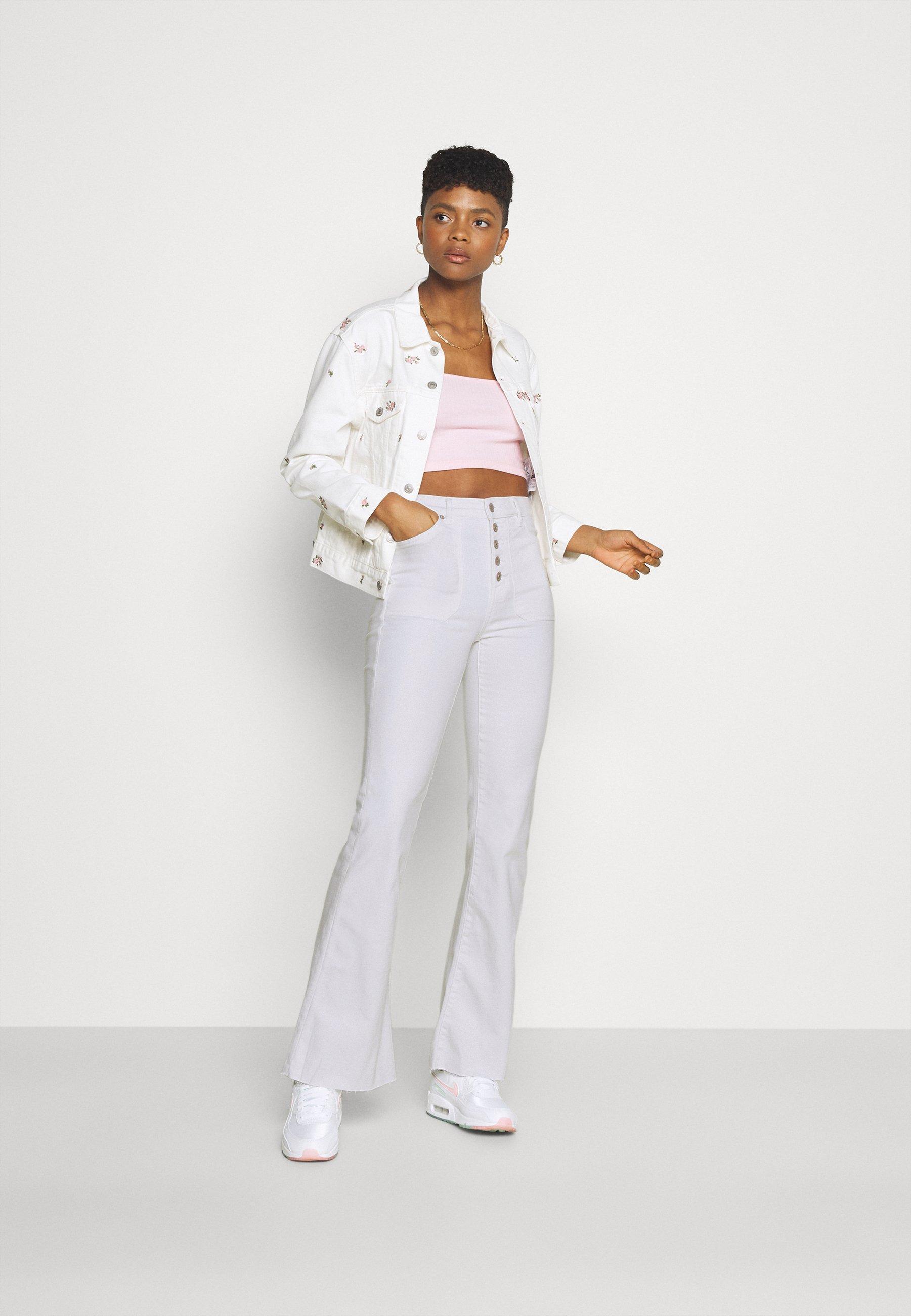 Damer SUPER HI-RISE - Flared jeans