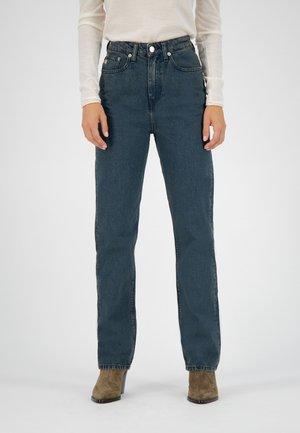 Straight leg jeans - whale blue