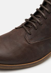 Shelby & Sons - LACE UP BOOT - Veterboots - brown - 5