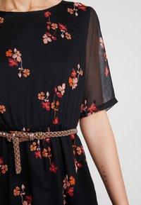 Vero Moda - VMCARINA BELT SHORT DRESS - Day dress - black - 5