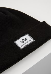 Alpha Industries - X-FIT BEANIE UNISEX - Mössa - black - 6