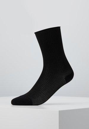 MALENE GLITTER - Socks - black