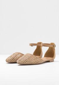 Rubi Shoes by Cotton On - ANKLE STRAP - Ankle strap ballet pumps - tan - 4
