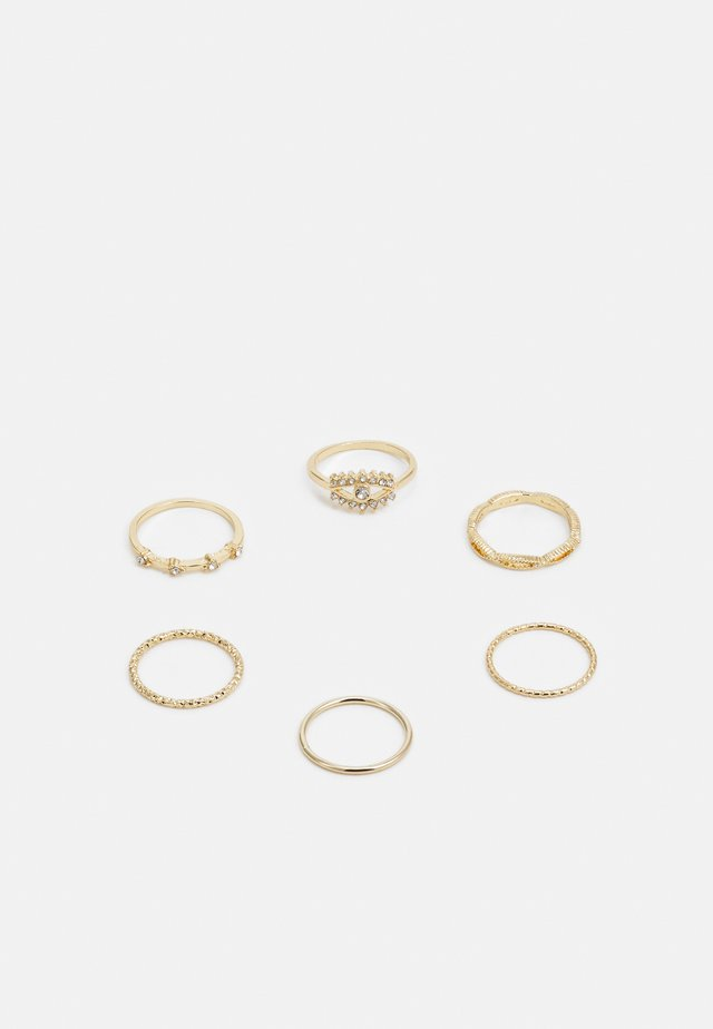WIN EYE STACKING 6 PACK - Bague - gold-coloured