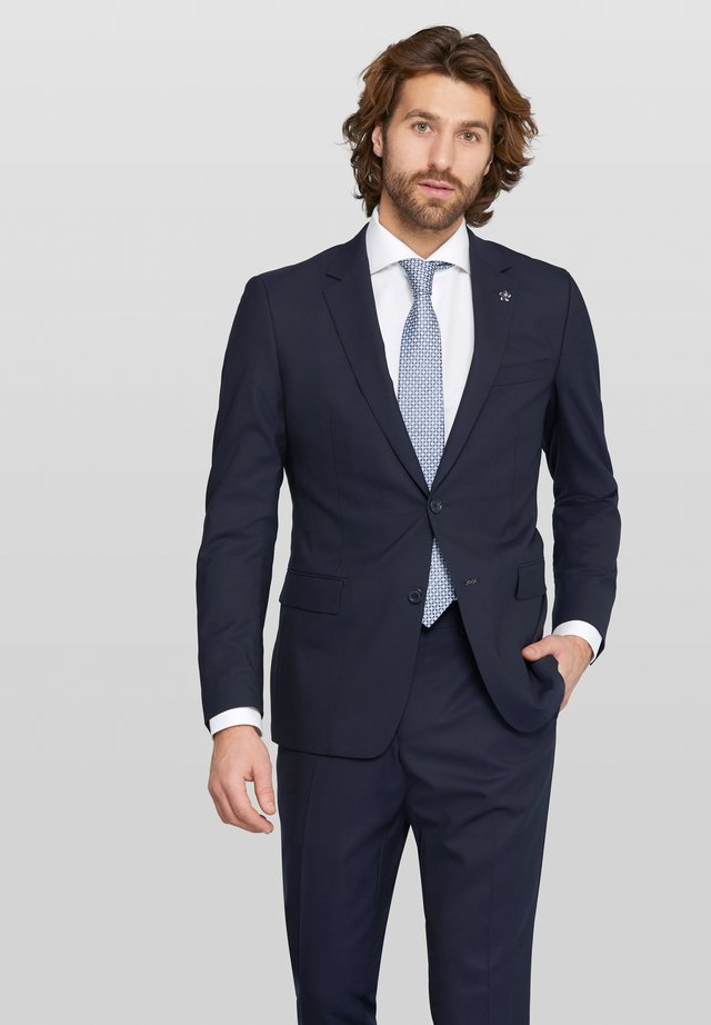 Zayn Split - Suit jacket - navy