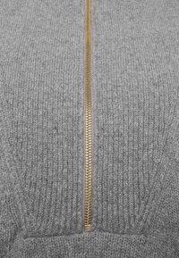 CLOSED - Jumper - grey heather melange - 2