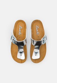 Lurchi - OTTIE - T-bar sandals - silver metallic - 3