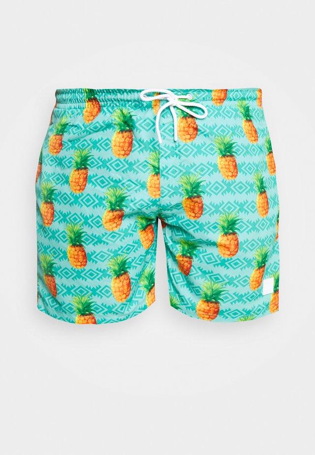 PATTERNSWIM - Swimming shorts - mint
