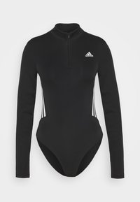 adidas Performance - LEOTARD - Body sportivo - black/white - 5