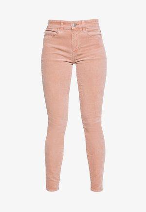 Kalhoty - dusty pink