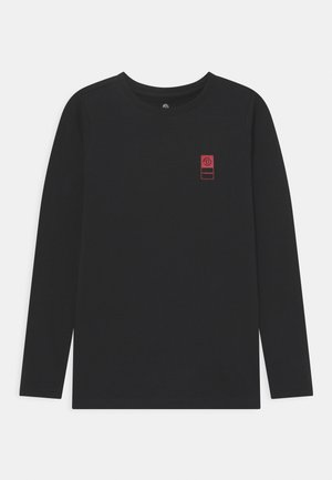 BASIC TEE - Pitkähihainen paita - deep black