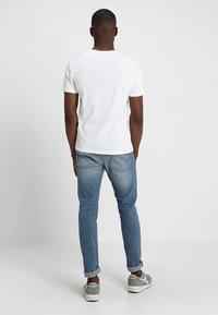Pier One - 5 PACK  - T-shirt basic - white - 2