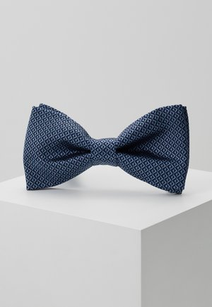 DIAMOND MOTIF BOW TIE - Bow tie - blue