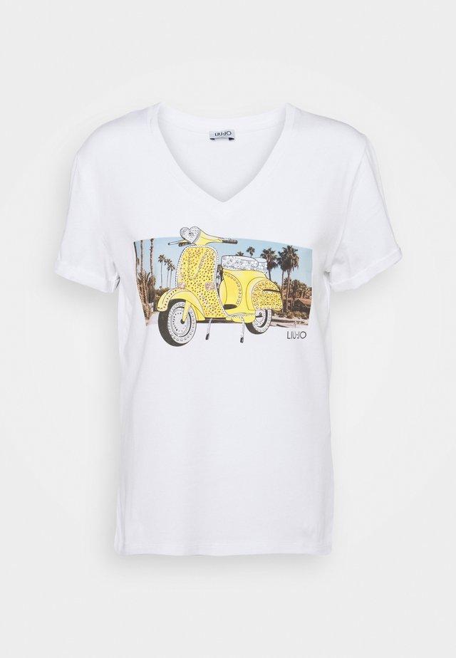 MODA - T-shirt print - white