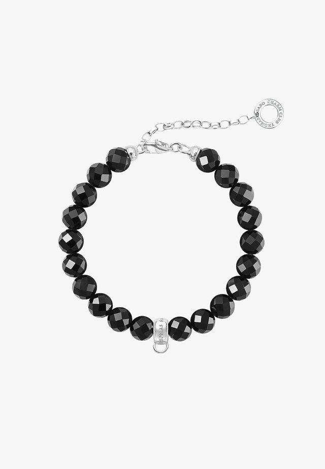 Armband - silver-coloured/black