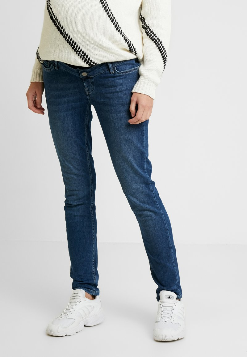 Esprit Maternity - PANTS - Jeansy Slim Fit - medium wash