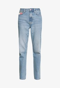 Tommy Jeans - HARPER STRGHT - Straight leg jeans - light blue denim - 3