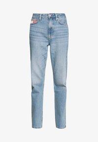 HARPER STRGHT - Straight leg jeans - light blue denim