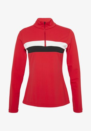 LEXIE - Fleece jumper - red