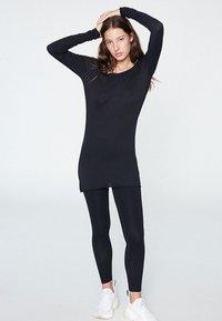 ARMEDANGELS - EVAA - Long sleeved top - black - 0