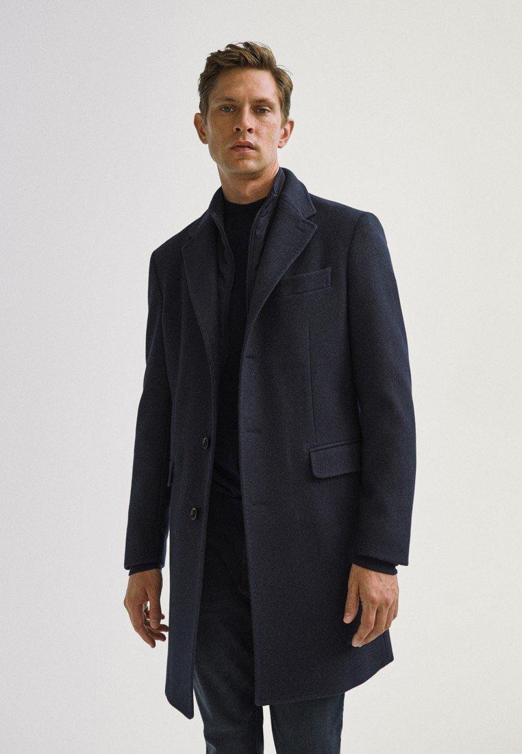 Massimo Dutti - Classic coat - blue