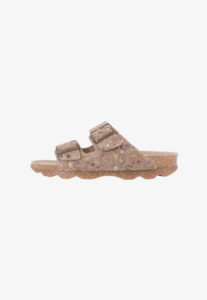 Genuins - Pantoffels - taupe