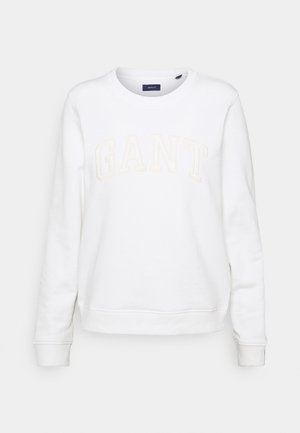ARCH LOGO C NECK - Sweater - eggshell