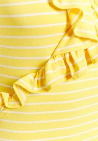 Lauren Ralph Lauren - DOLOMEO SLEEVELESS - Top - lemon rind/white - 2