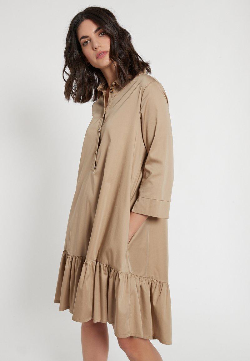 Ana Alcazar - Shirt dress - beige