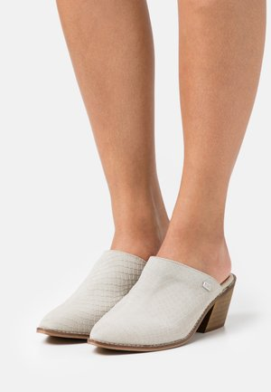 HELEN - Heeled mules - ice