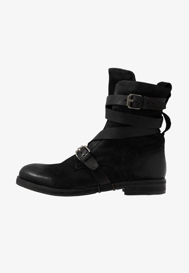 ACTON - Korte laarzen - nero