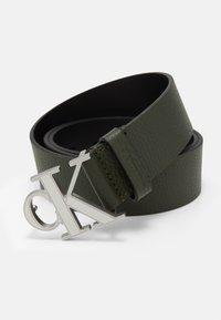 Calvin Klein Jeans - LOGO TEXT  - Pásek - green - 3