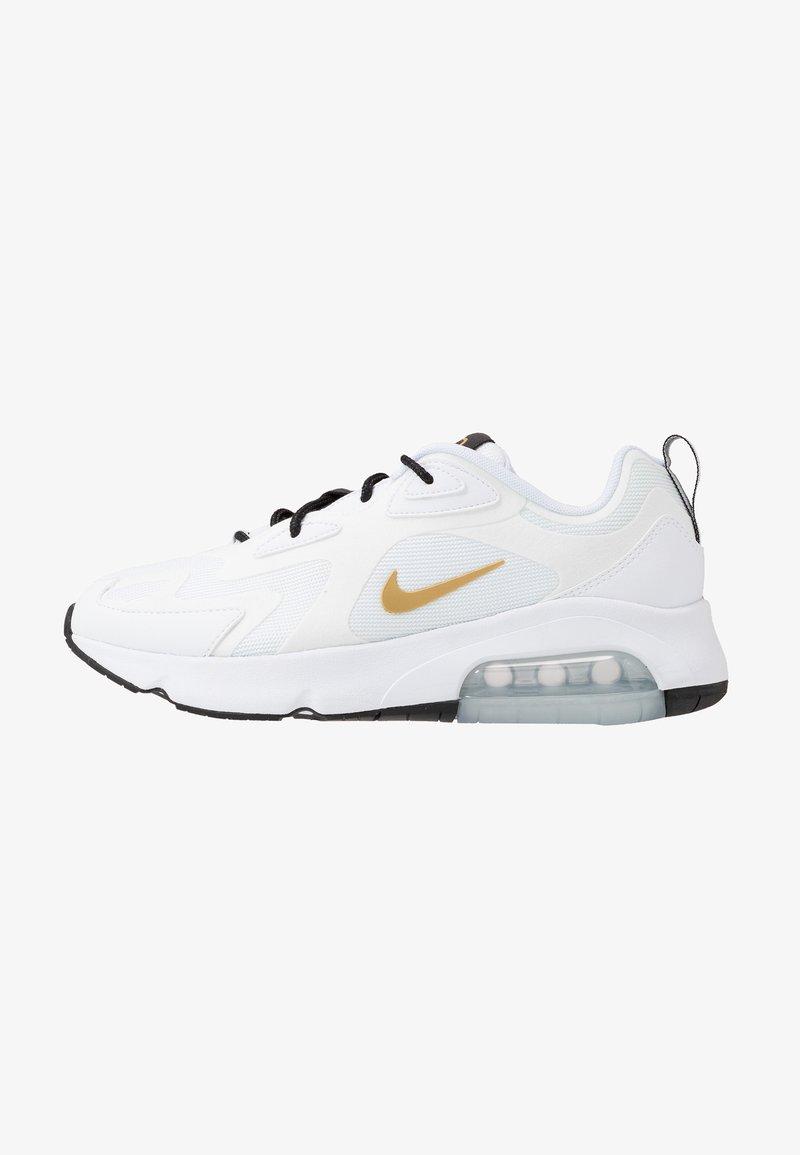 Nike Sportswear - AIR MAX 200 - Sneakers - white/metallic gold/black/metallic silver