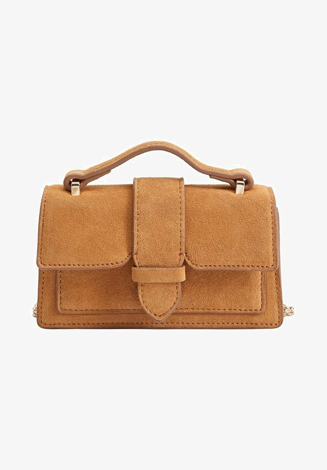 JACOBA - Handbag - marron moyen