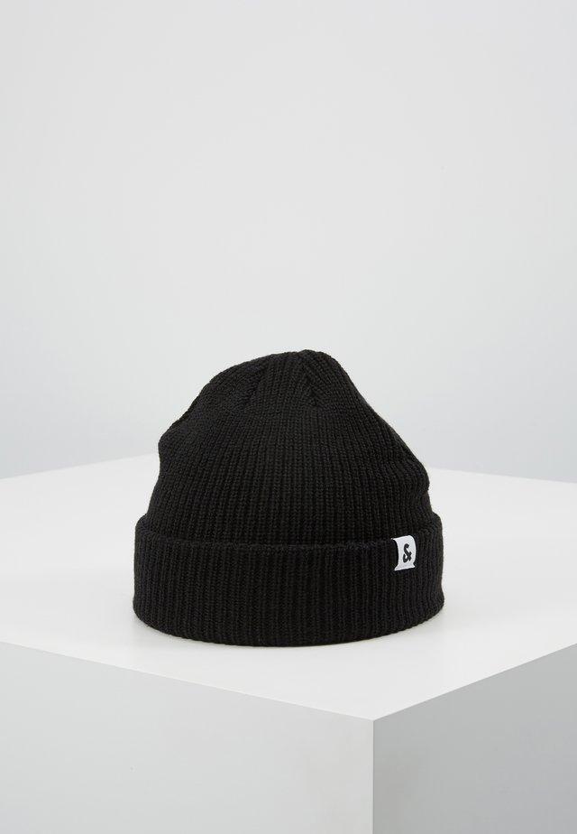 JACTWISTED SHORT BEANIE - Bonnet - black