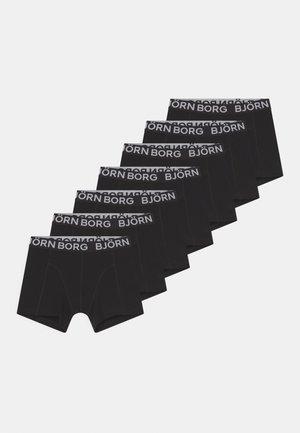 CORE BOXER 7 PACK - Underbukse - black